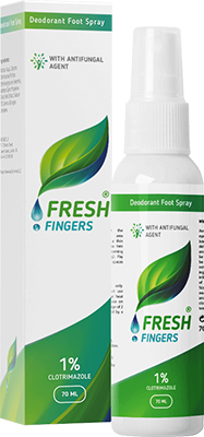 Fresh Fingers in Romania Spray Pentru Micoza