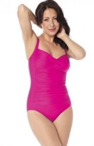 Slim Swim Costum De Baie Modelator Roz