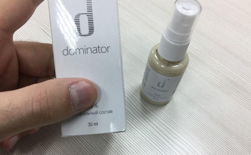 Dominator Spray Ambalaj