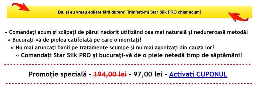 Oferta Star Silk PRO