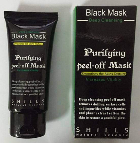 black-mask ingrediente