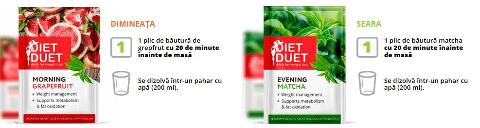 Diet Duet Seara Dimineata